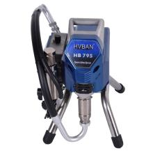 airless high pressure compressor with spray gun