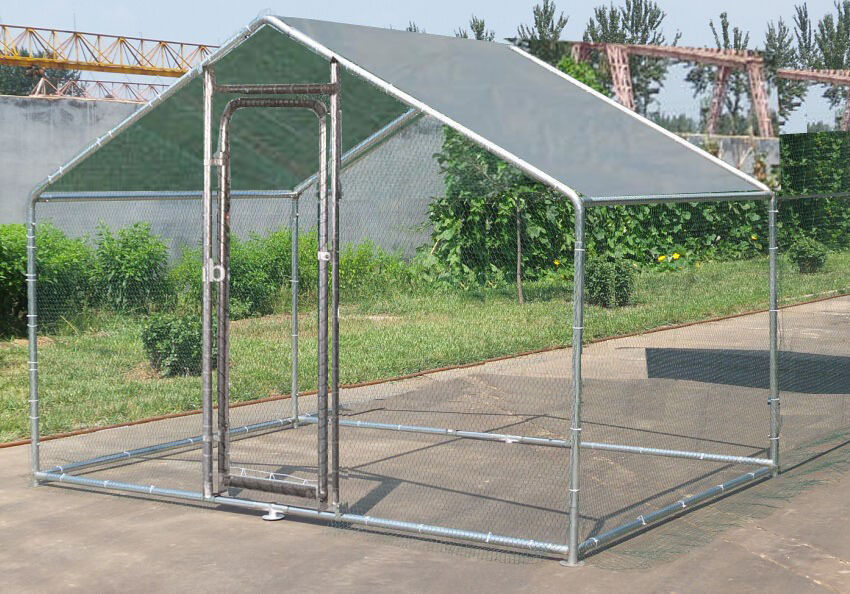 Metal Chicken Coop Pet Enclosure China Manufacturer