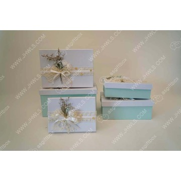 Custom service hand made paper  Box