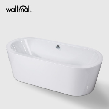Large  Freestanding Pedestal Tub