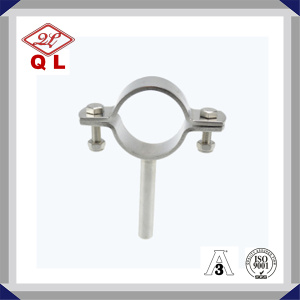 Sanitary Stainless Steel Pipe Holder with Tube