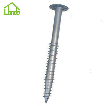 Hot q235 screw pile foundation for sale