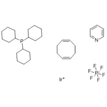 (1,5-Cyclooctadiene)pyridine(tricyclohexylphosphine)iridium hexafluorophosphate CAS 64536-78-3