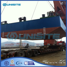 Reliable for Pontoon Bridge steel pontoons floats for dredging and marine construction export to Norway Factory