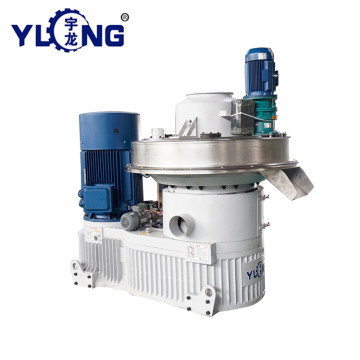 YULONG XGJ850 2.5-3.5T/H straw pellet making machine for selling