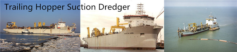 Hopper Trailing Suction Dredger design