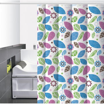 W Hotel Waterproof Bathroom printed Shower Curtain