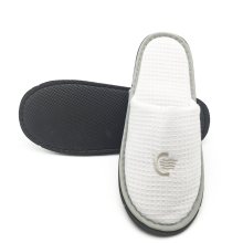Fast Delivery for Non-woven Slippers,Slippers in Non-woven Bag,Disposable Slippers Manufacturer in China White fluffy personalized hotel slippers supply to Uruguay Manufacturer
