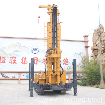 Low Cost 500 Meter Water Well Drilling Rig
