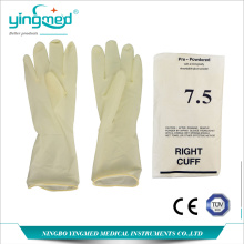 Latex Surgical Gloves with Power or Powder-free