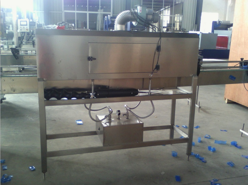 Semi Automatic Bottle Labeler Machine Office