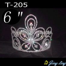2015 New design pageant Crown Flower Shape