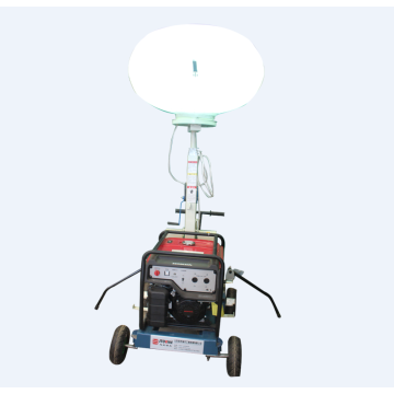 High sales gasoline vehicle-mounted balloon light tower