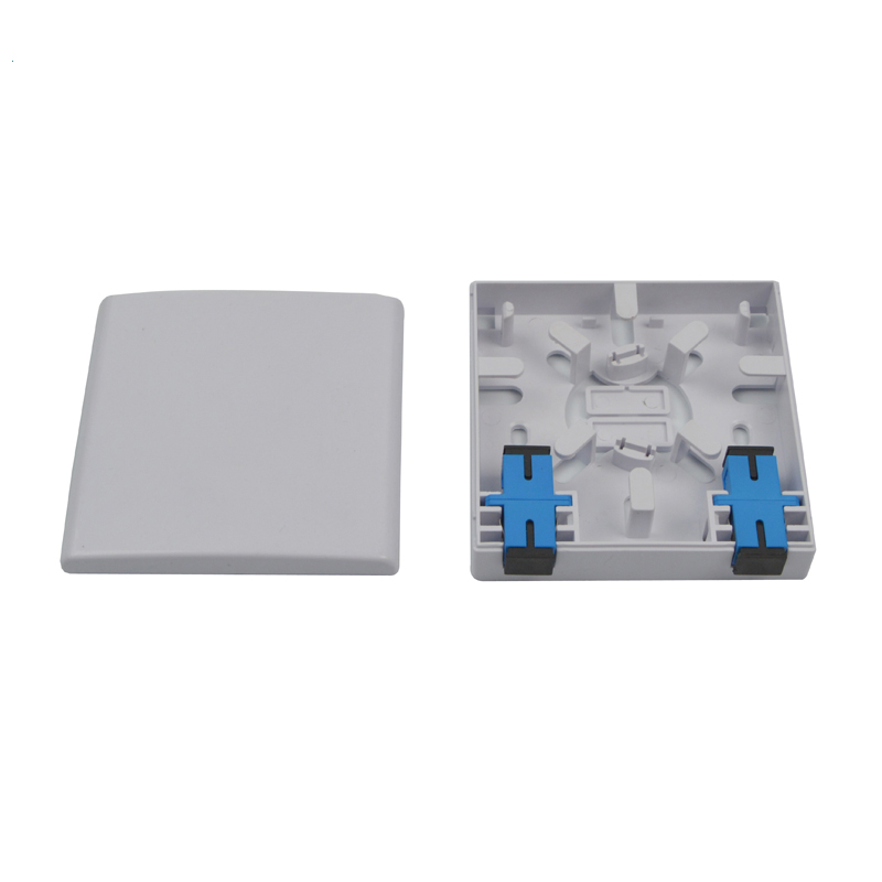 2 Port Fiber Optic Terminal Box