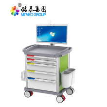 Mobile care cart on wheels