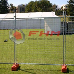 Temporary Fence Fabric of Welded Wire