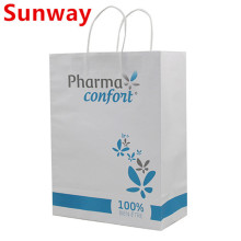 2019 new white durable kraft paper bags
