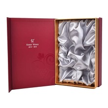 Excellent quality for Colored Bamboo Wine Box The Color Red Wine Gift Box export to Italy Wholesale