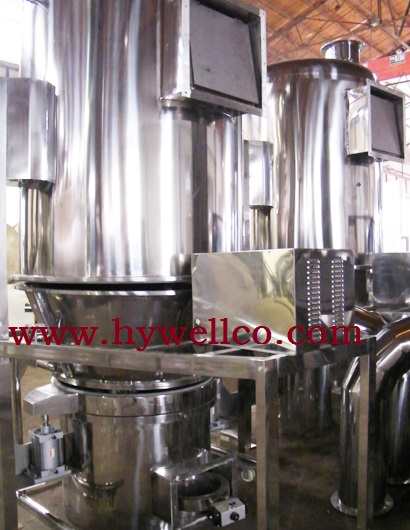 Coffee Granule Fluid Bed Drying Machine