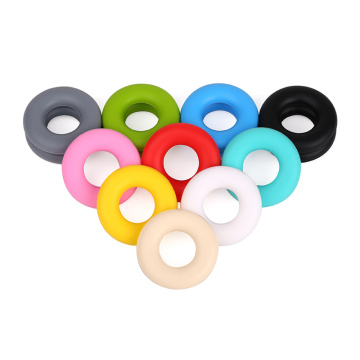 Loose Teething Ring Silicone Beads