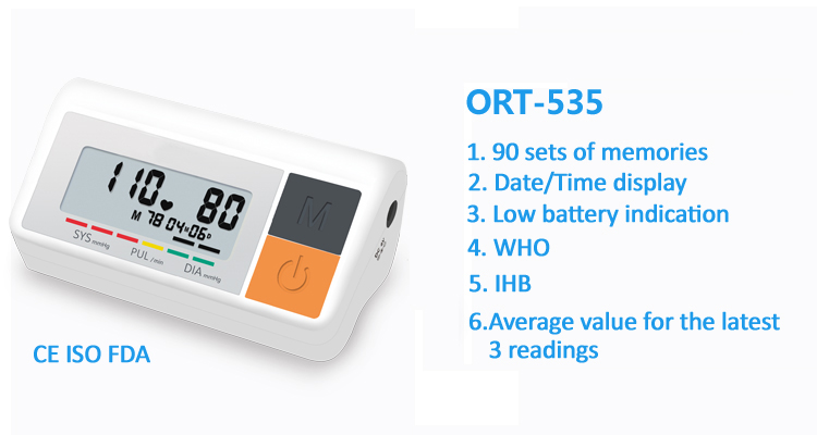 ORIENTMED-535-blood-pressure-monitor