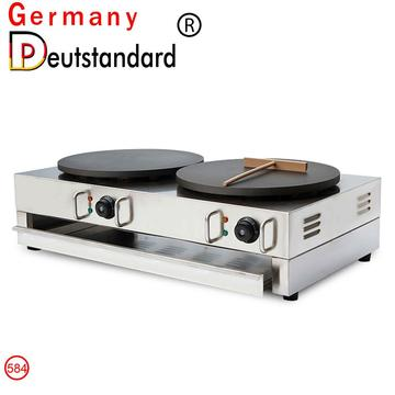 Double head crepe maker machine electric