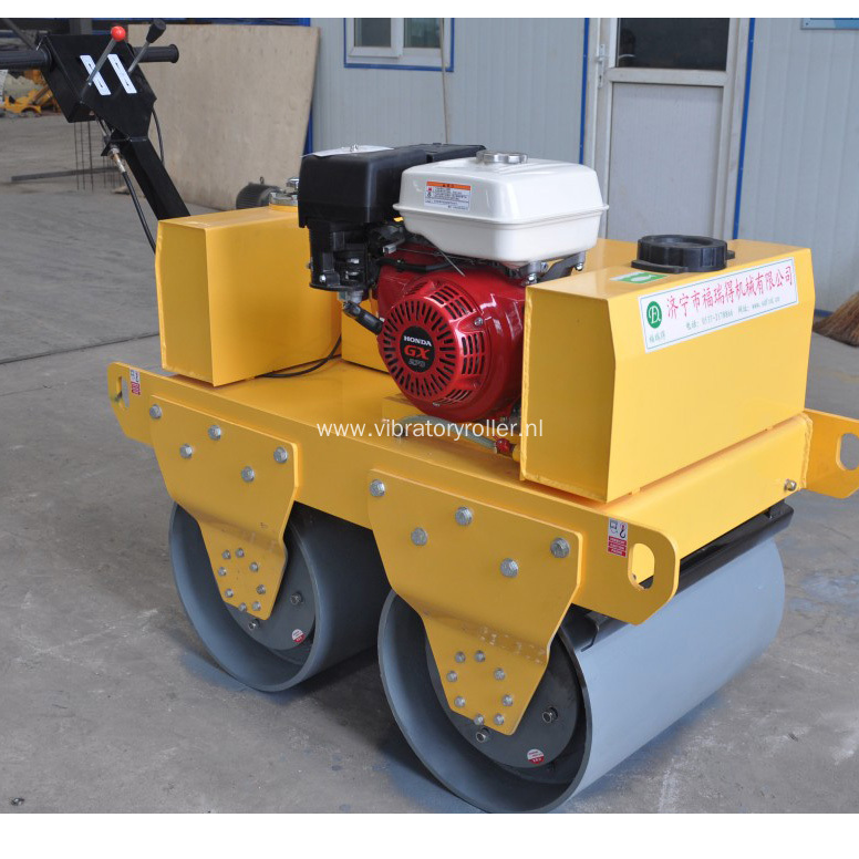 Walk Behind Hydraulic Small Double Drum Road Roller