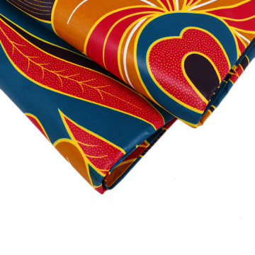 Plain african wax fabric for dress