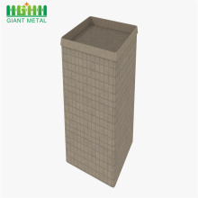 Hesco barrier wall retaining wall stone baskets