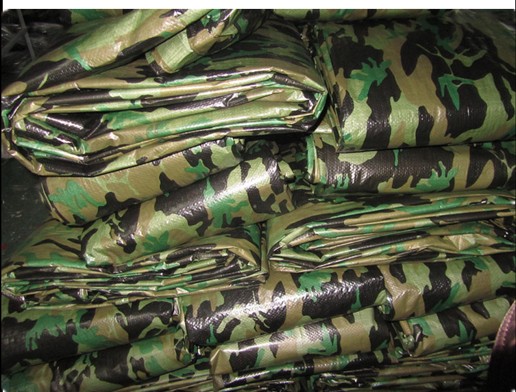 Low price PE tarpaulin Camouflage
