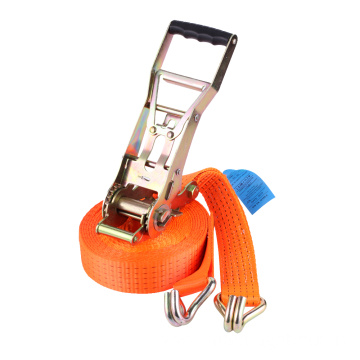 Extra Long Ratchet Tie Down Straps With Hooks