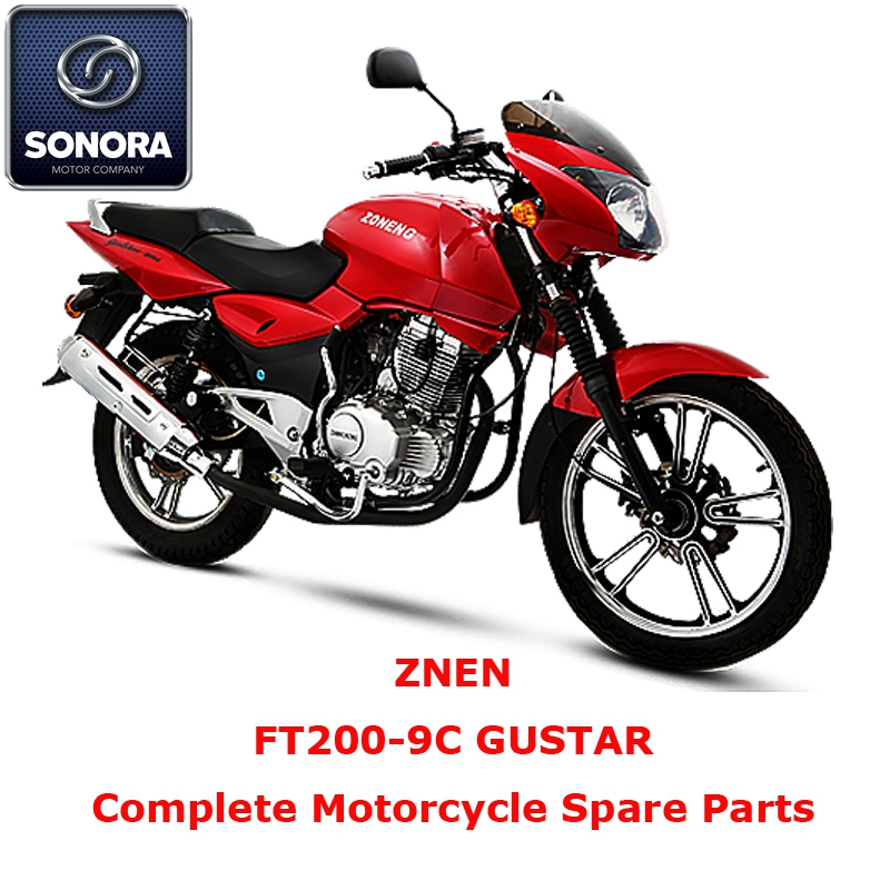 ZNEN FT200-9C GUSTAR Complete Motorcycle Spare Part