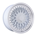 Custom Alloy Rim White Machined Face 17 Inch