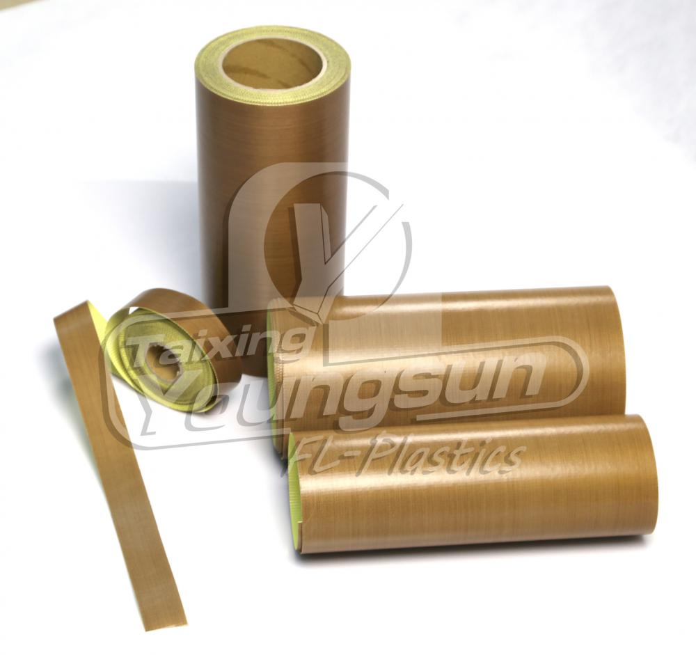 PTFE fabric with adhesive/PTFE adhesive tape