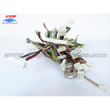 Custom wire assemblies for game machine