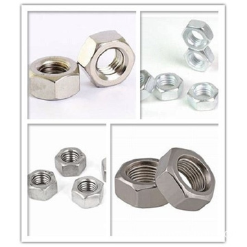 I-CNC Machining High Precision Steel Hexagon Nut eyenziwe ngokwezifiso