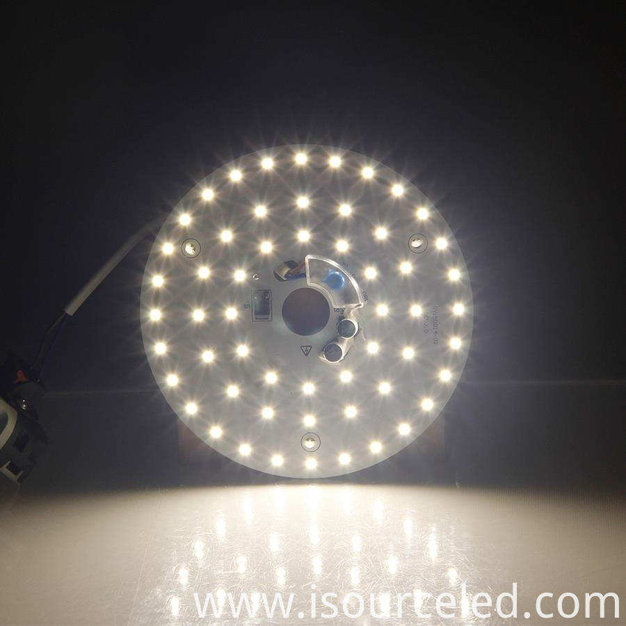 Led light pcb board warm coloured led light product power-on luminous diagram