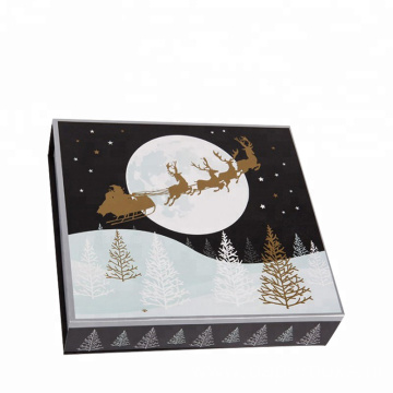 Luxury Design Gift Box Folding Magnet For Christmas