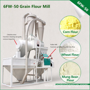 Mini Flour Milling Machine