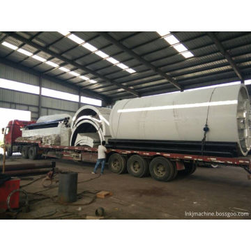 latest environmental waste tyre pyrolysis machine