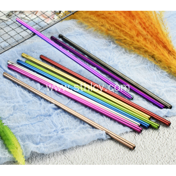 304 Stainless Steel High Quality Straw Multi-color Optional