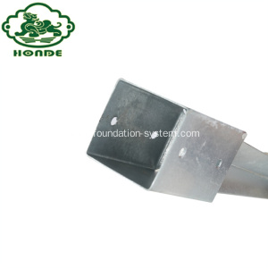 Hot-Galvanized Steel Ground Screw Foundations