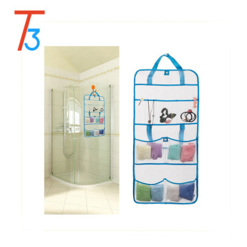 Hanging Mesh Storage Bags Organizer with 6 Compartments for Kids Toy Storage/hanging Mesh Organizer