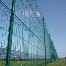 Office Buildings Pre- galvanized  3D Panel Fence