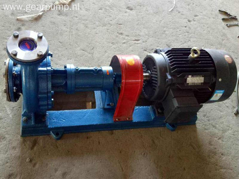 High temperature centrifugal hot oil circulating pump