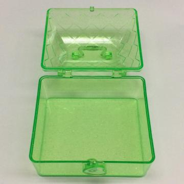 Plastic mini house shaped storage box
