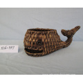 Water Hyacinth Shark Shape Pot