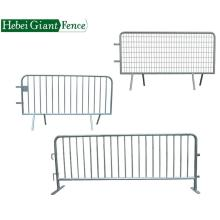 Safety Traffic Barrier Galvanized Crowd Control Barrier