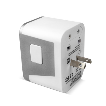 4USB AU/US/UK/EU World Travel Charger