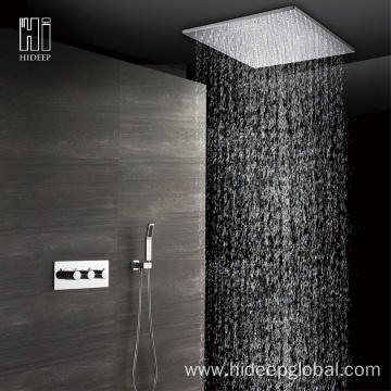Two Function Thermostatic Full Copper Shower Faucet Set